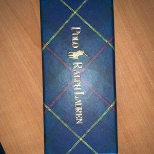 NWT Polo Ralph Lauren plaid key chain